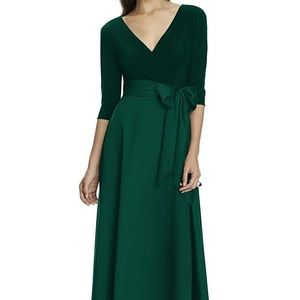Alfred Sung maxi formal dress (worn only once)